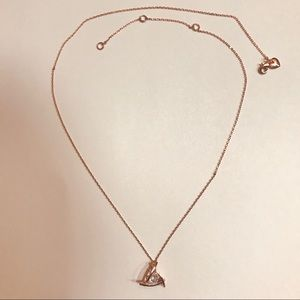 Jewelry - Rose Gold Pendant Necklace
